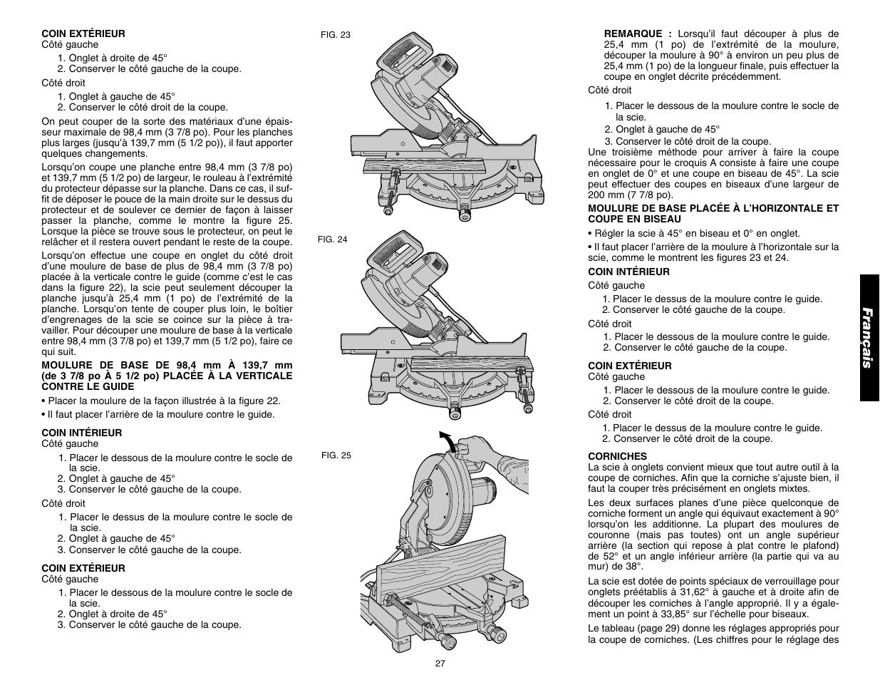 Español mantenimiento, reparaciones, cortes especiales   dewalt 12.