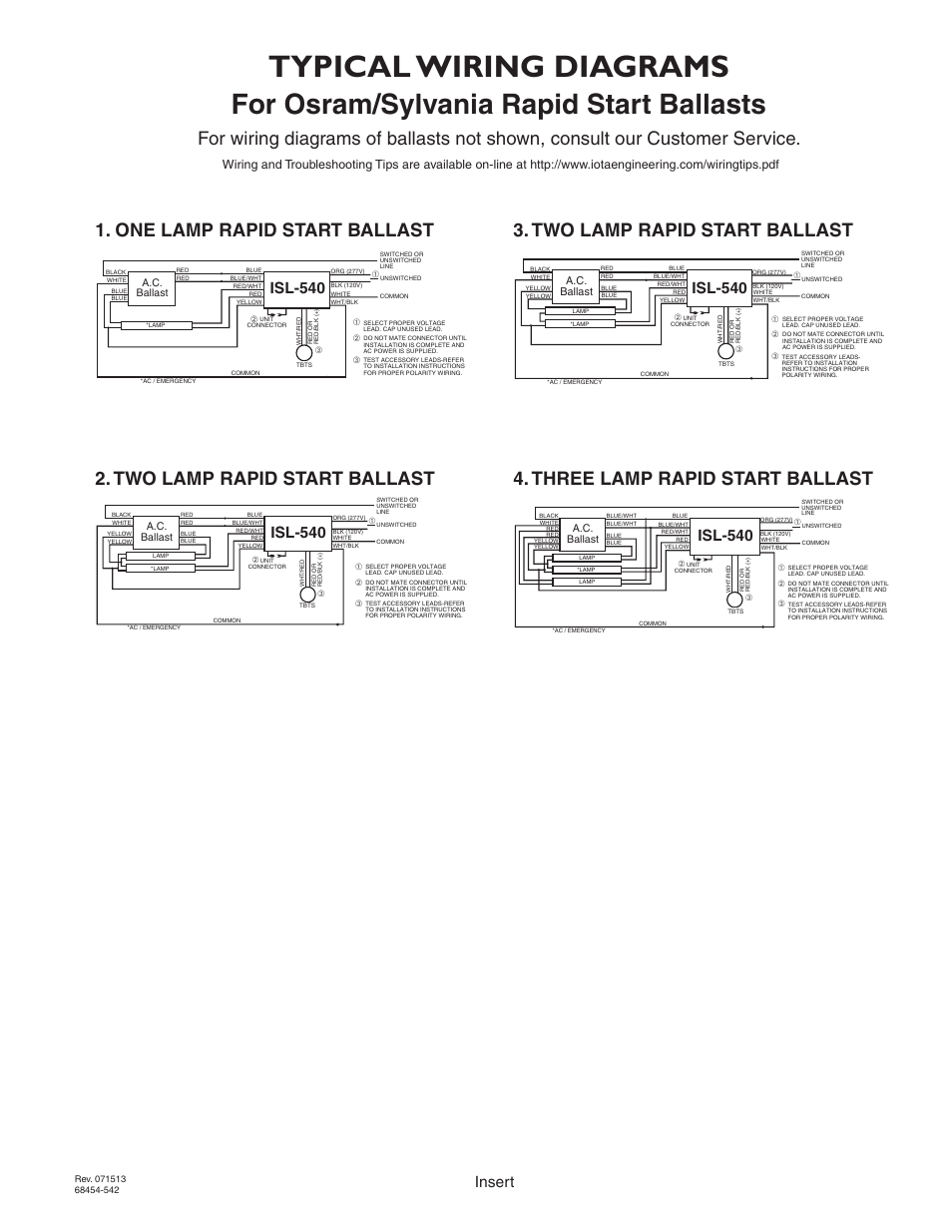 Isl 540 Ballast Wiring Diagram Libraries Osram Free Download Schematic Typical Diagrams For Sylvania Rapid Start Ballaststypical