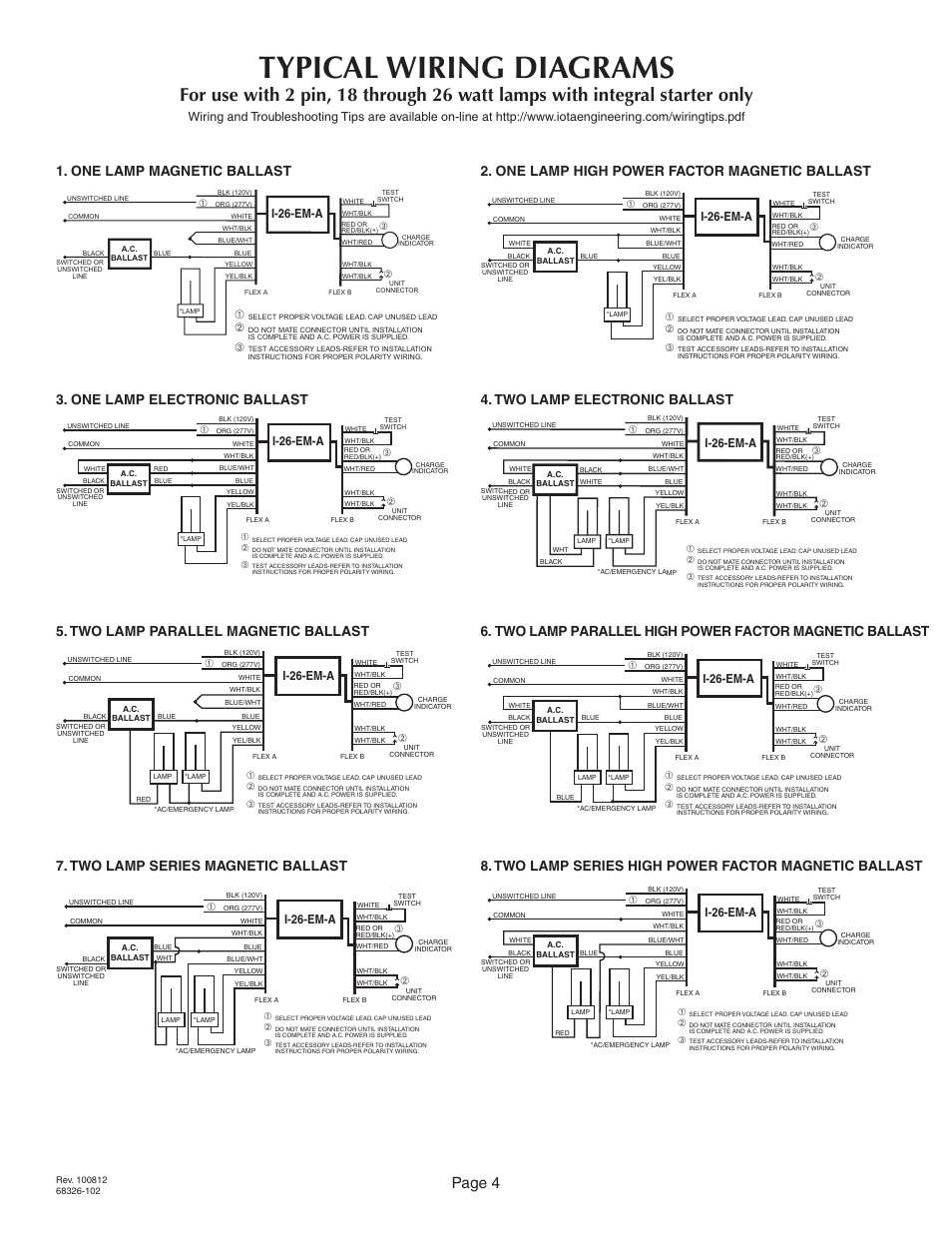 iota i 80 emergency ballast wiring diagram 28 images iota i 80 rh ys5bg us iota i-80 emergency ballast wiring diagram iota i320 emergency ballast wiring diagram
