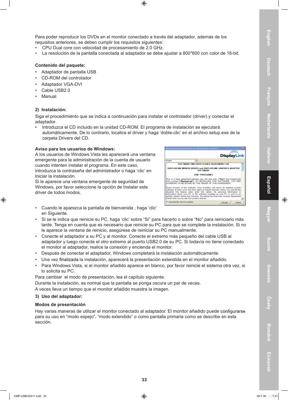 Konig Electronic USB 220.20 to VGA/DVI adapter User Manual   Page 20 / 20