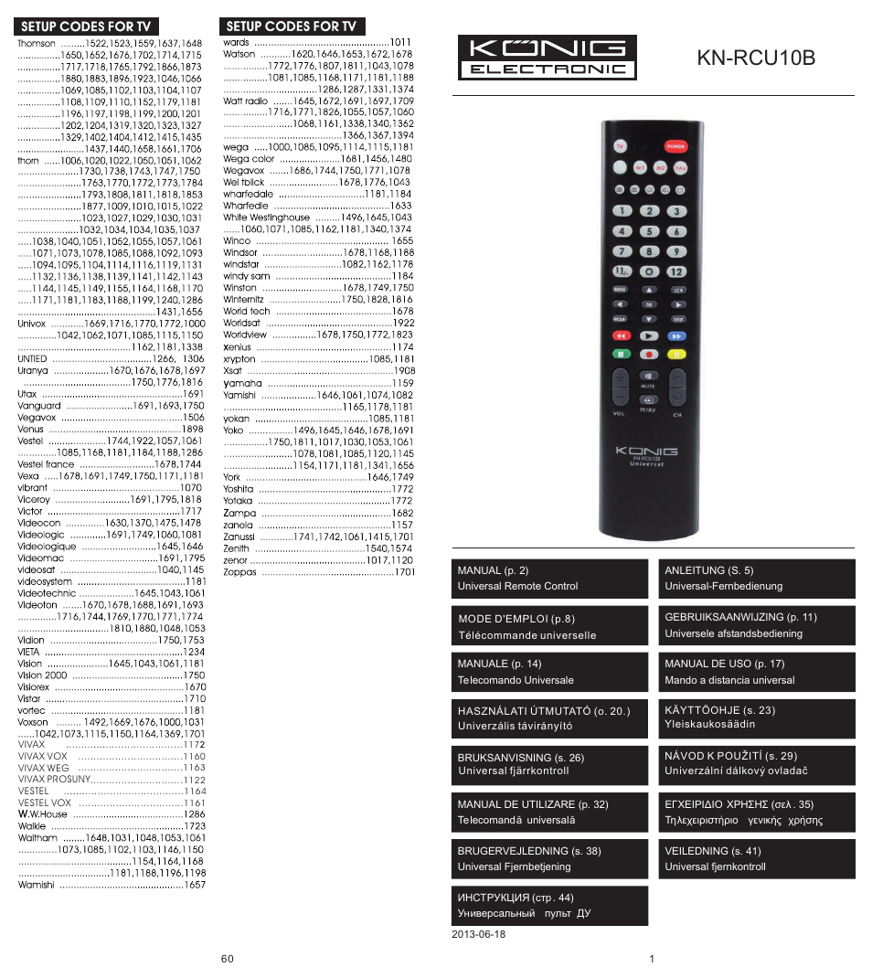 Download Universal Remote for All TV – All Remote Control ...
