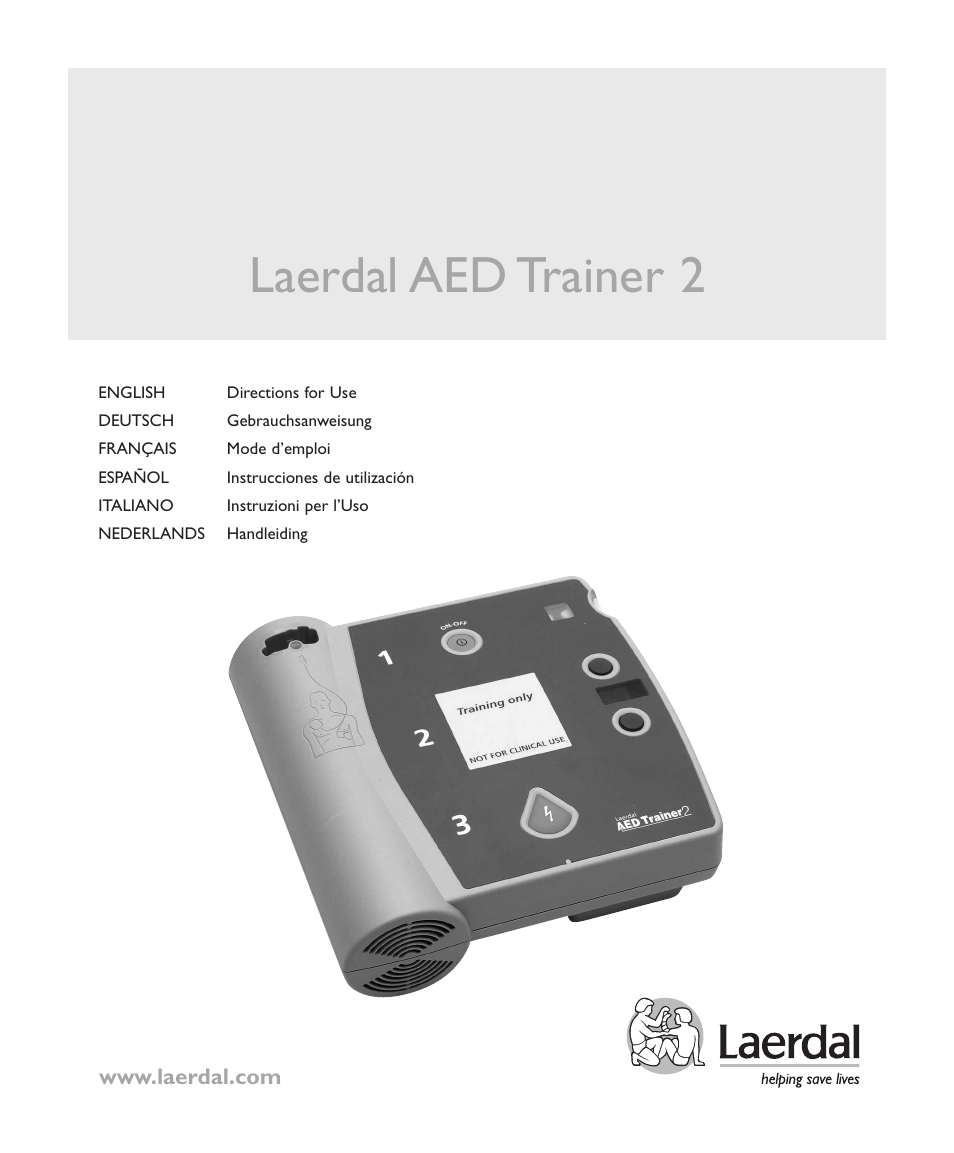 Laerdal AED Trainer 2 User Manual | 38 pages