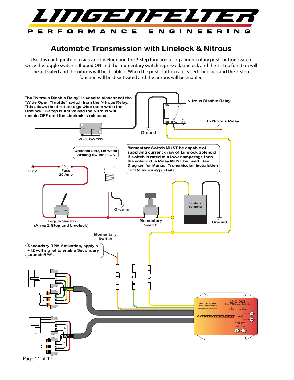 Automatic Transmission With Linelock  U0026 Nitrous  Page 11 Of