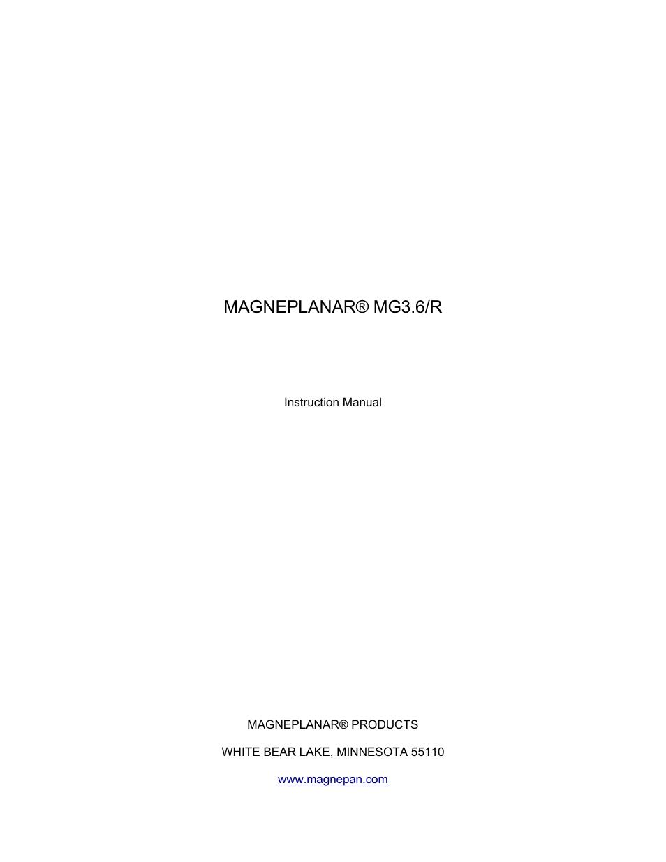 magnepan mg 3 6 user manual 14 pages rh manualsdir com Magnepan 3.7I Loudspeaker Magnepan 1.7