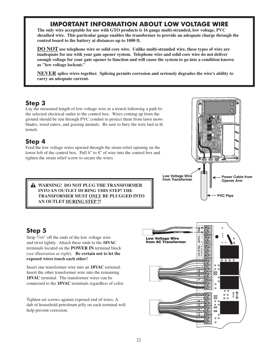 Step 3 4 Important Information About Low Voltage Wire Ac Wiring 5