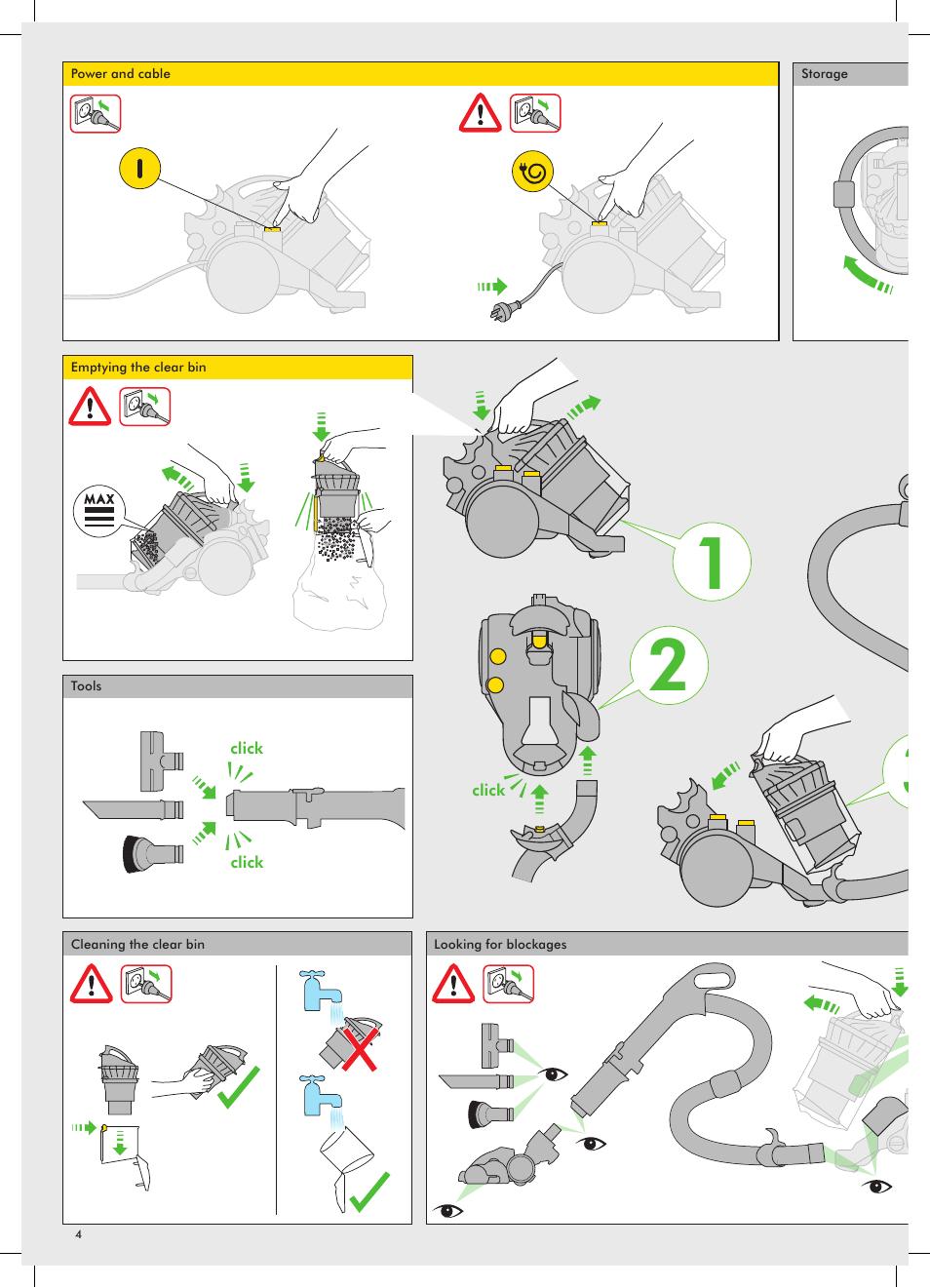 dyson dc24 manual repair