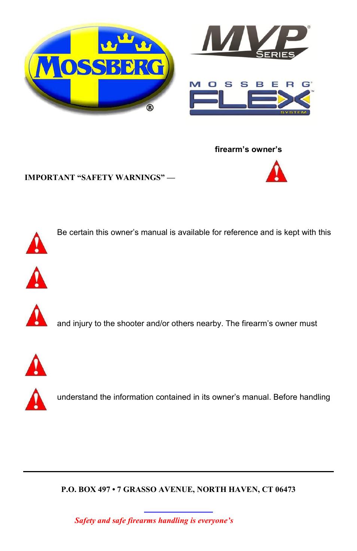 mossberg mvp flex user manual 11 pages rh manualsdir com Panasonic Phones Manuals NEC Phone Manuals