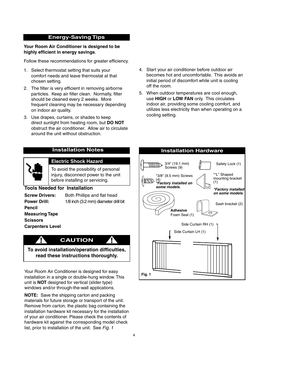 Danby DAC8007EE User Manual | Page 5 / 13 | Also for