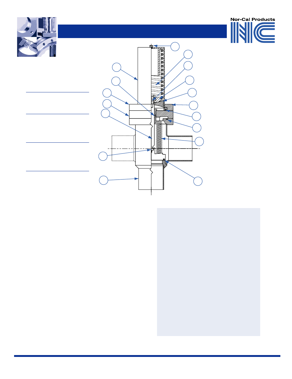 Repair Instructions Valve Cutaway Diagram Warranty Nor Cal Angle Air Cylinder Schematic Valves User Manual Page 3 4