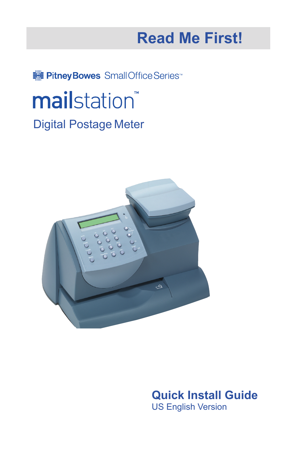 Pitney Bowes Mailstation (K700) User Manual | 13 pages