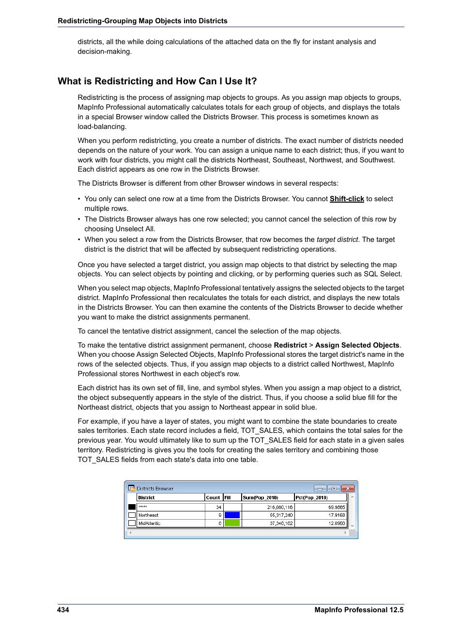 What is redistricting and how can i use it pitney bowes mapinfo what is redistricting and how can i use it pitney bowes mapinfo professional user manual page 434 540 biocorpaavc Images