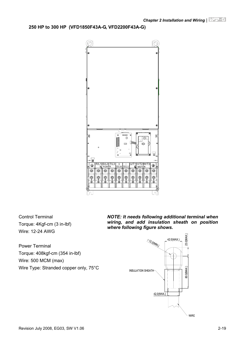 Delta Electronics AC Motor Drive VFD-G User Manual | Page 42 / 183