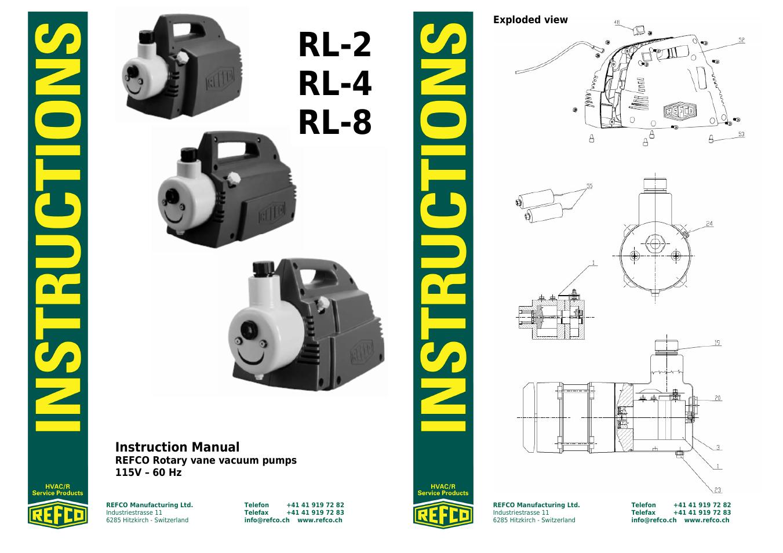 Refco rl-8 инструкция