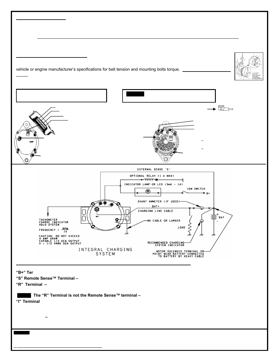 24si Alternator Wiring Diagram Library. Remy 28si Alternator User Manual Page 2 6. Wiring. Delco 24si Alternator Wiring Diagram At Scoala.co