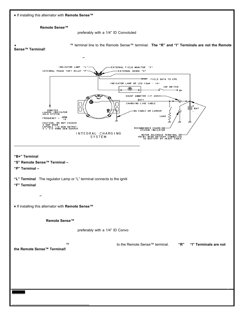 Remy 28SI       ALTERNATOR    User Manual   Page 3  6   Also for  24SI       ALTERNATOR