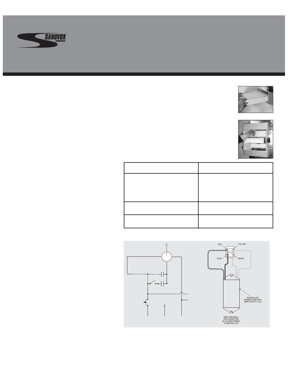 maintenance guide, general maintenance information, 1 changing wiring a 400 amp service maintenance guide, general maintenance information, 1 changing filters sanuvox s300 fx gx user manual page 12 16