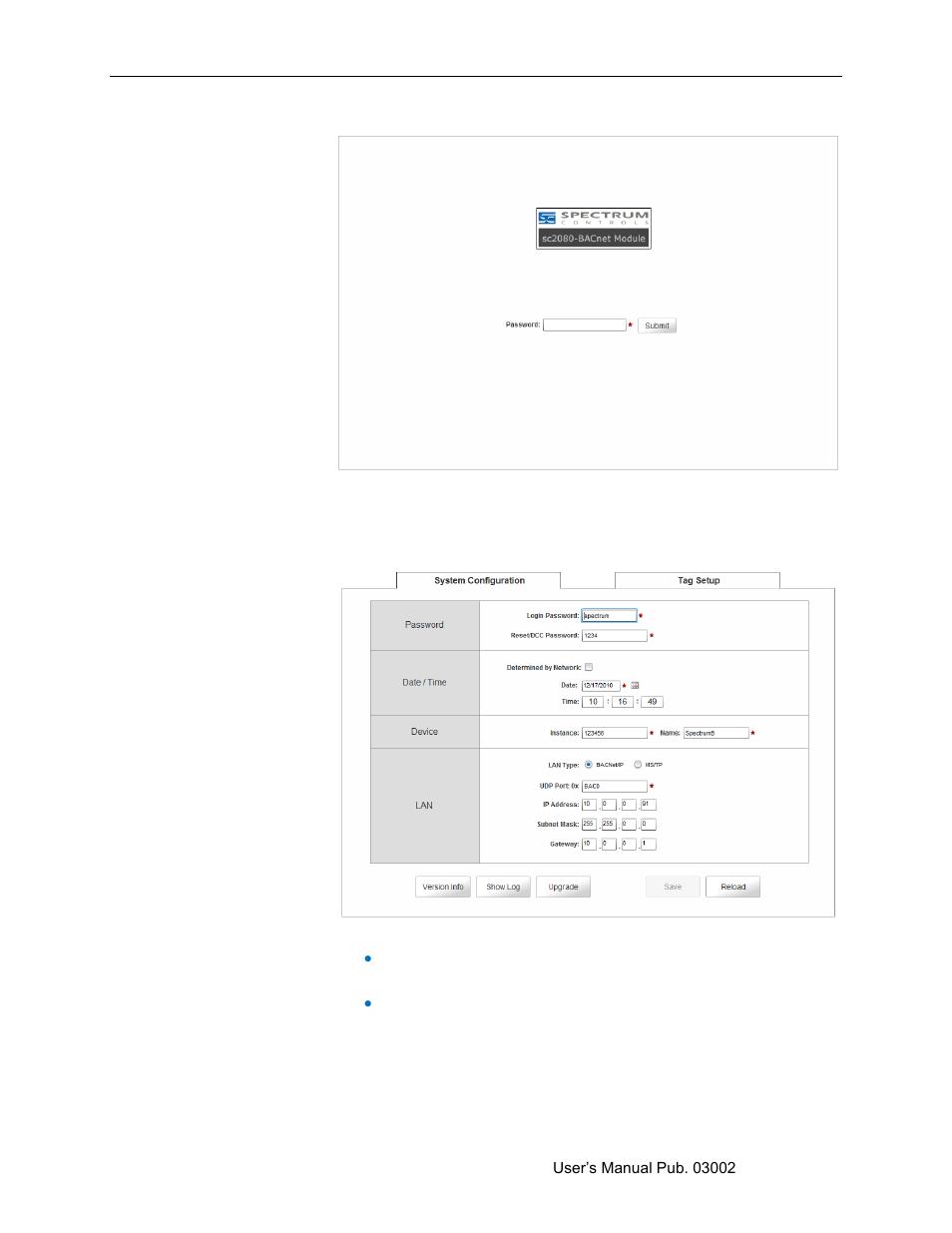 Spectrum Controls 2080sc-BAC User Manual | Page 21 / 56