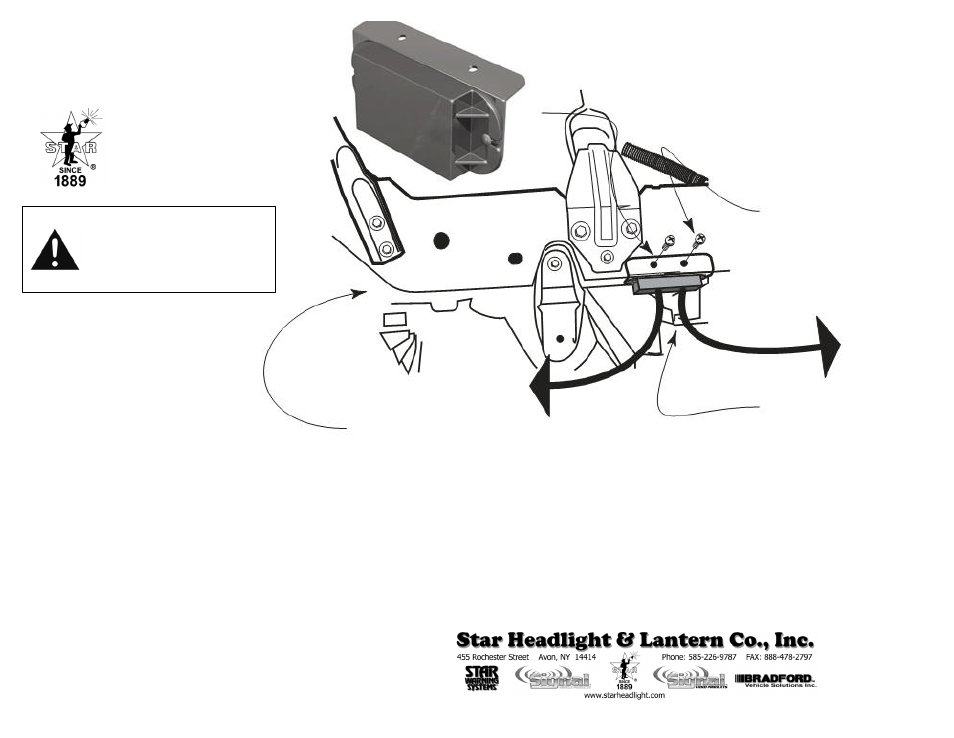 Star Headlight & Lantern FM6906 Plug-N-Play Flasher Mobules ... on turn signal flasher diagram, flasher relay, flasher circuit diagram,