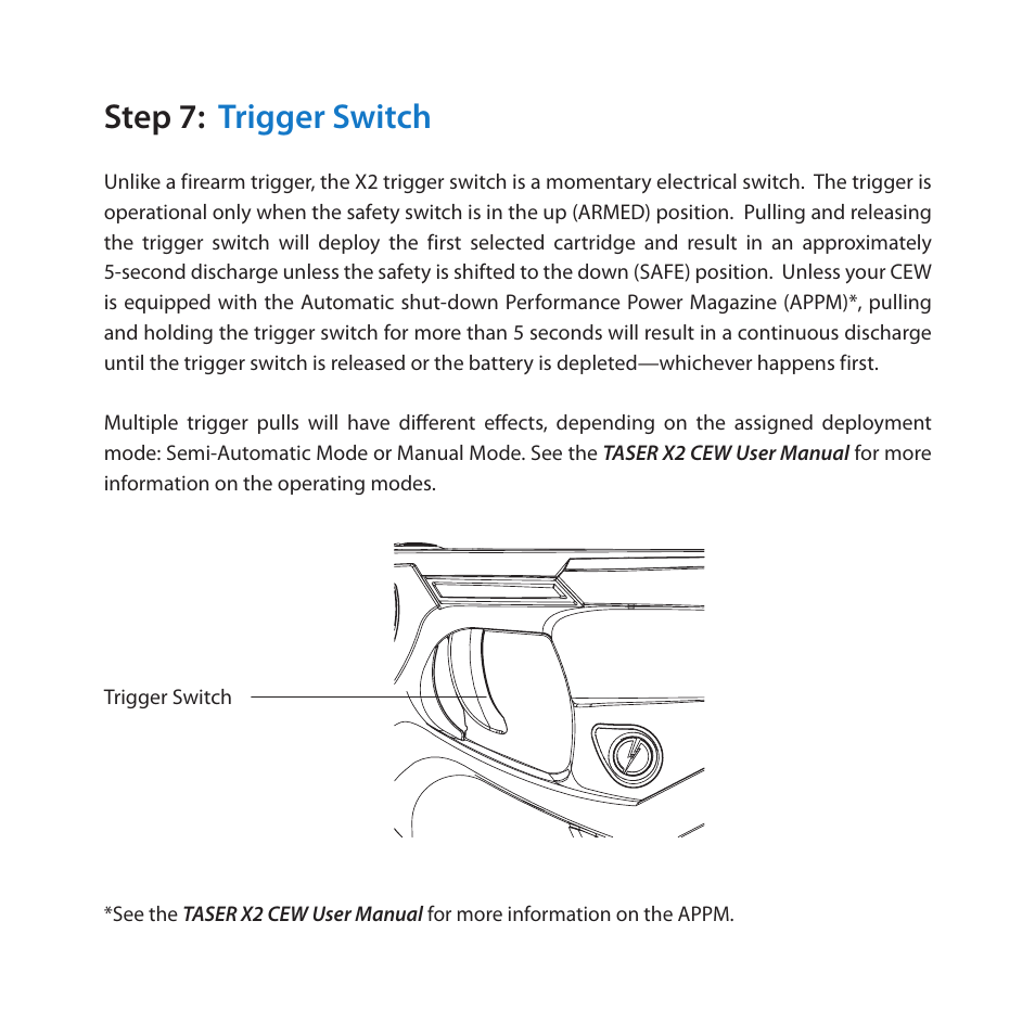 Taser X2 Diagram Trusted Wiring Diagrams Fotos This Is A Diy Simple Stun Gun Circuit Schematic Step 7 Trigger Switch User Manual Page 10 18 An Ecd