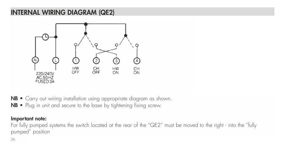 internal wiring diagram (qe2) | tfc group towerchron qe2 user, Wiring diagram