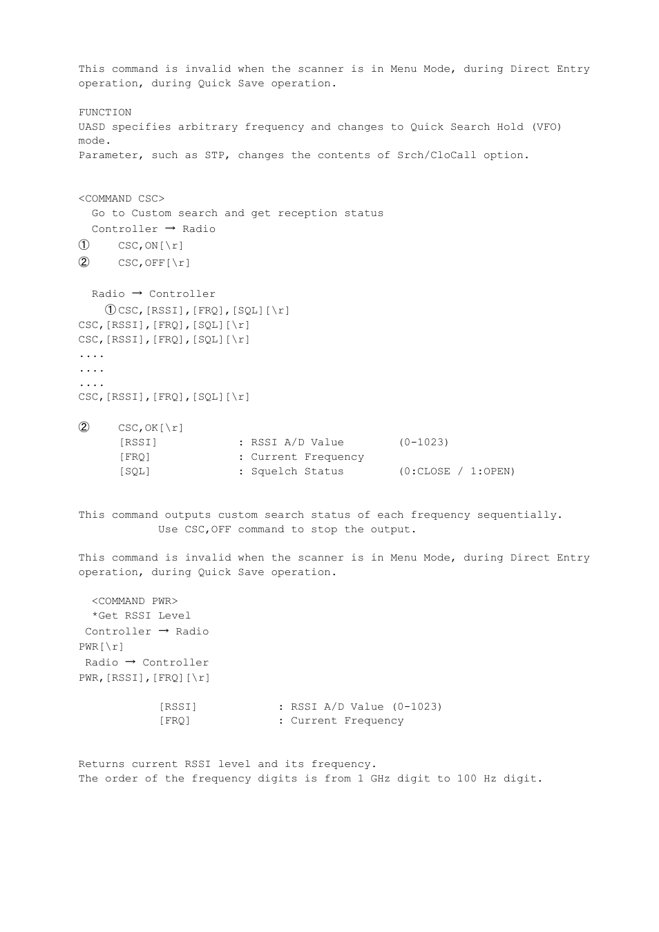Uniden BCD396XT User Manual | Page 227 / 273