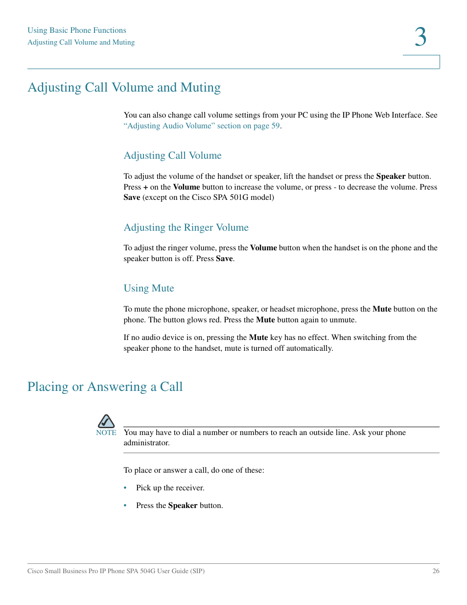 User guide. Cisco small business pro. Spa 504g ip phone for 8x8.