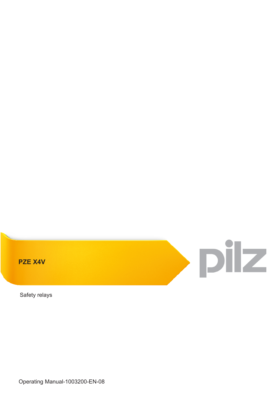 pilz pze x4v 05_24vdc 4n_o fix page1 pilz pze x4v 0,5 24vdc 4n o fix user manual 19 pages also for pnoz x4 wiring diagram at soozxer.org