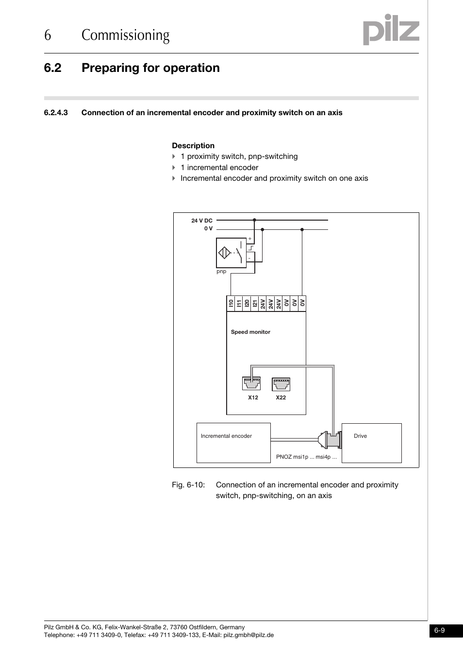 6commissioning 2 Preparing For Operation Pilz Pnoz Ms2p Ttl Pnp Prox Switch Wiring Diagram Coated Version User Manual Page 33 45