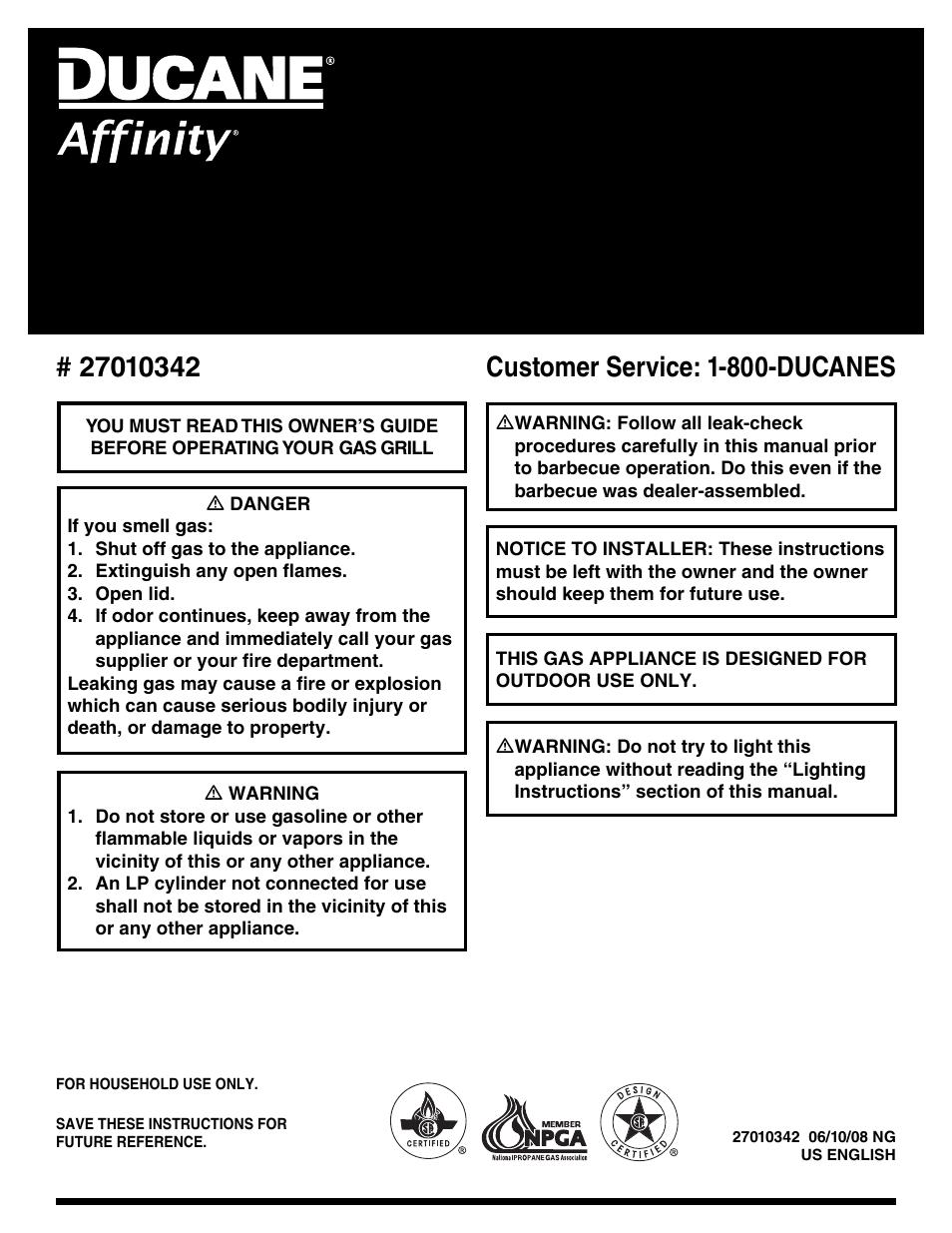 ducane affinity 3400 user manual 64 pages rh manualsdir com