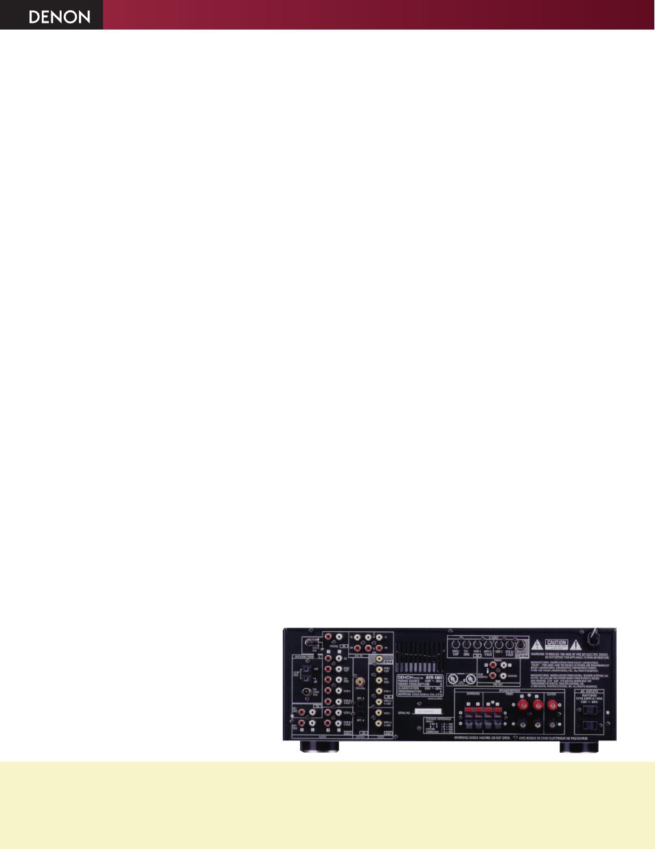 avr 1801 denon avr 1801 user manual page 2 2 original mode rh manualsdir com denon avr 1801 user manual pdf Review Denon AVR 1801