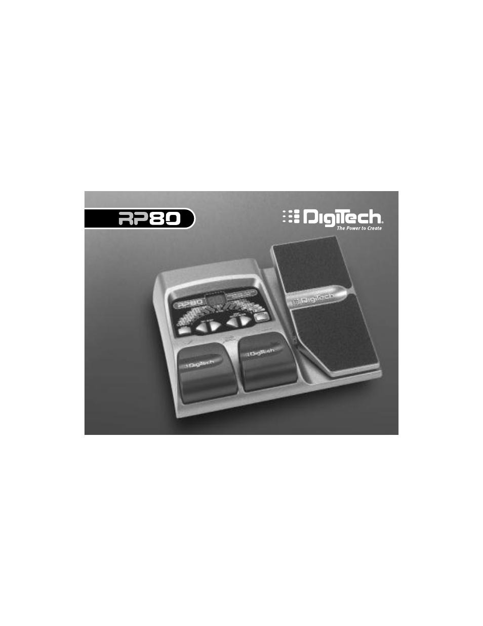 digitech rp80 user manual 32 pages rh manualsdir com Newest Digitech Effects Processor Rp 80 Digitech GNX 1
