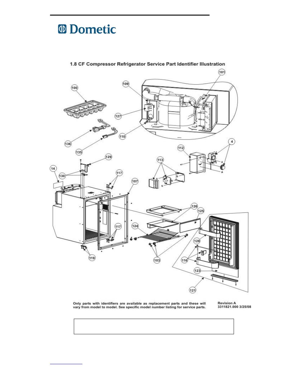 Manualguide Dometic Refrigerator Parts Manual Schematic Freightliner Troubleshooting Guide 750000005 Rh Manualsdir Com