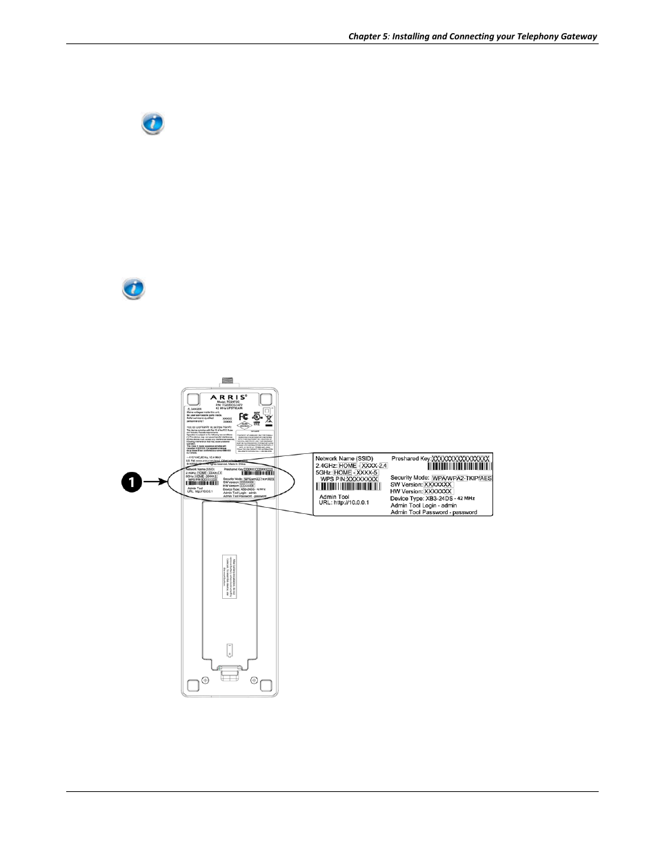 Configuring your wireless connection | ARRIS TG2472G-NA User Guide User  Manual | Page 26 / 44