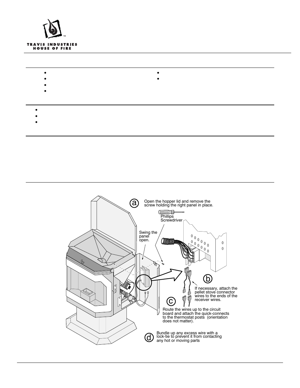 avalon firestyles gas/pellet remote thermostat user manual