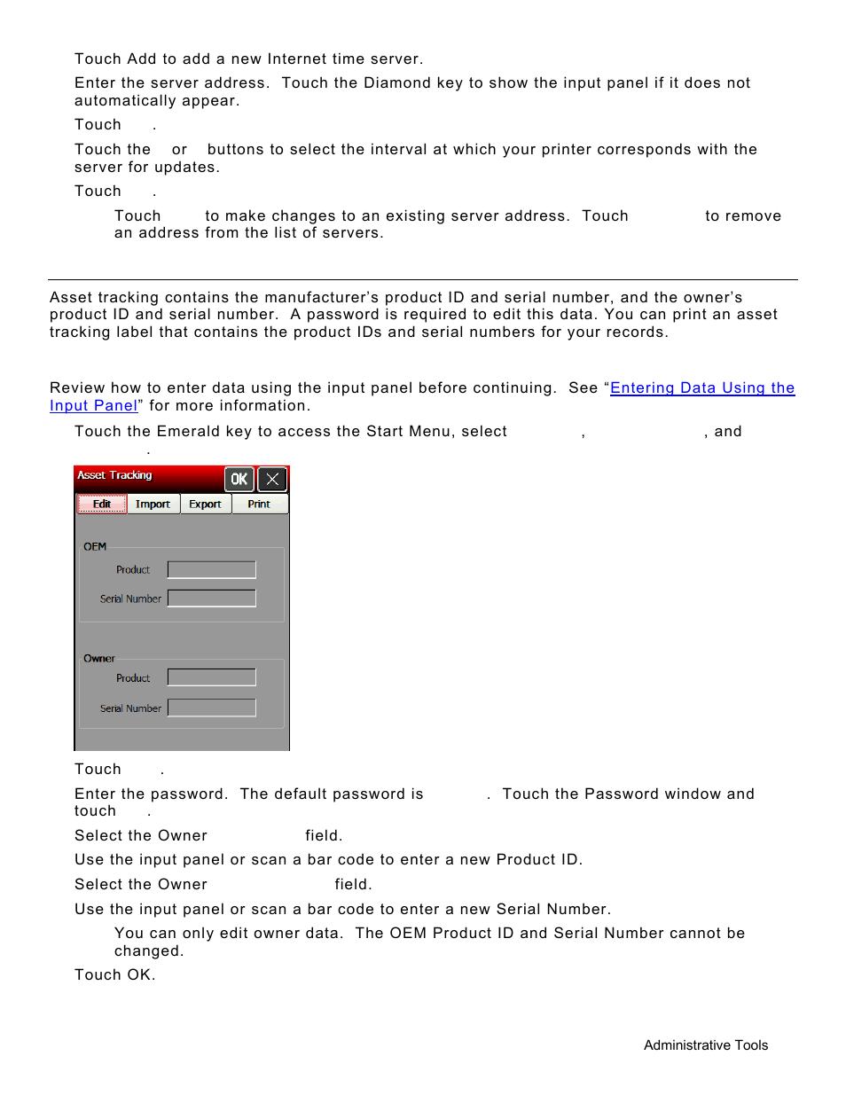 using asset tracking editing owner data using asset tracking 3 rh manualsdir com User Manual Car Owners Manual
