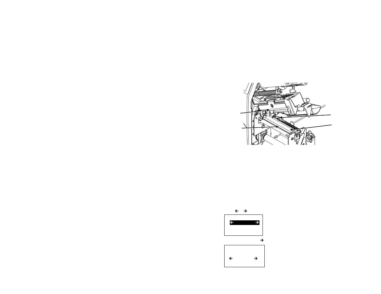 limpieza selecci n del int rprete avery dennison monarch 9906 rh manualsdir com Operators Manual Owner's Manual