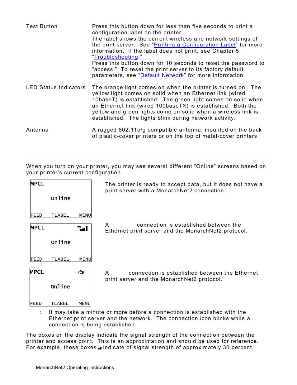 avery dennison monarch 9906 monarchnet2 user manual page 8 72 rh manualsdir com User Manual Wildgame Innovations Manuals