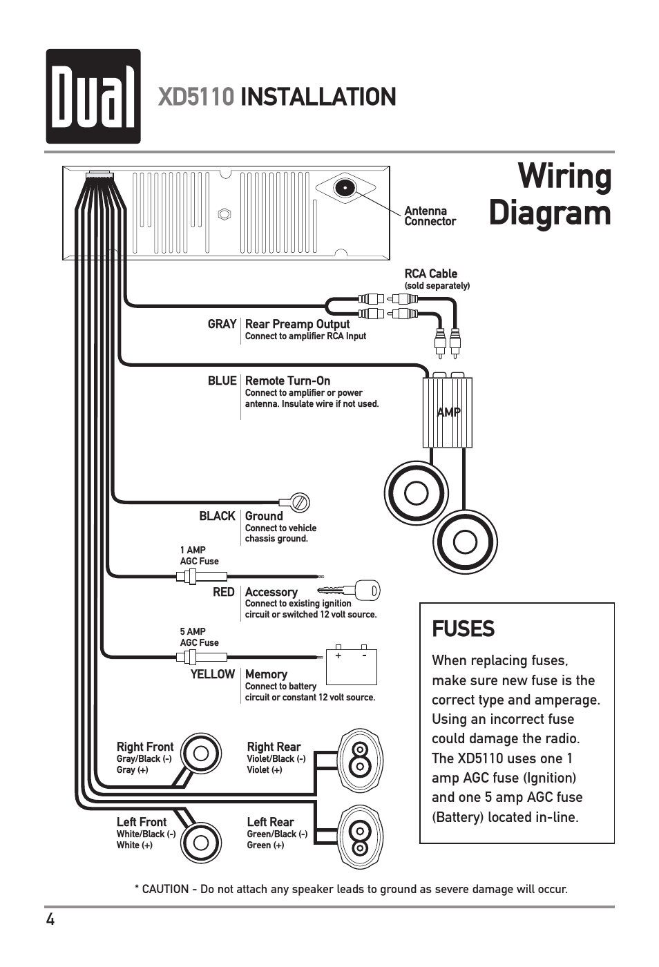 12 amp agc fuse wiring diagrams