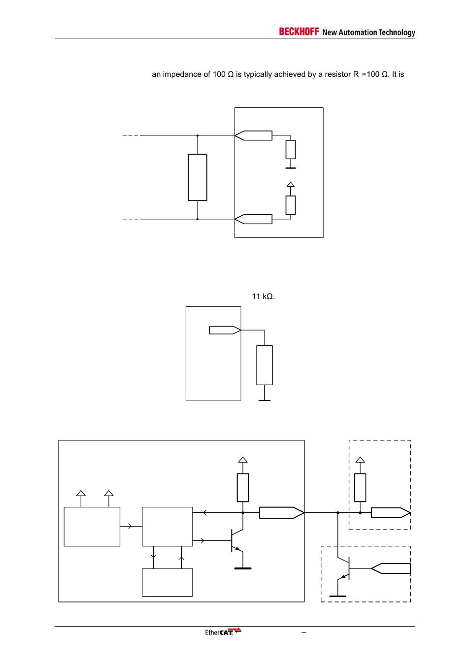 5 lvds termination, 6 rbias resistor, 7 reset logic