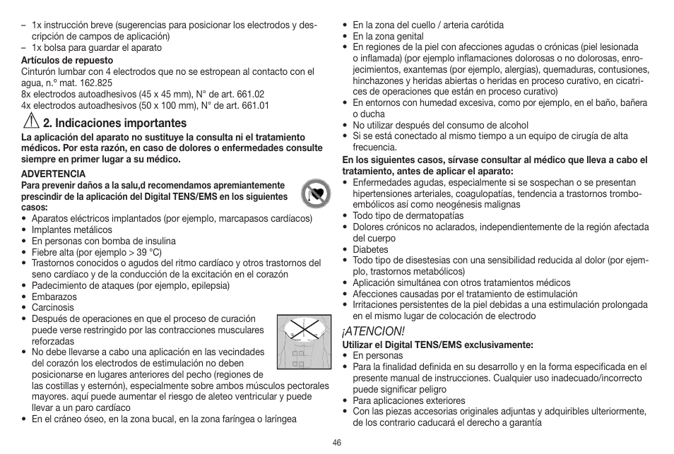 Beurer EM 20 Manuals and User Guides, Massager Manuals ...