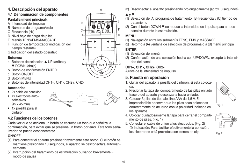 Beurer EM 41 User Manual | 112 pages | Also for: EM41, EM 41.1