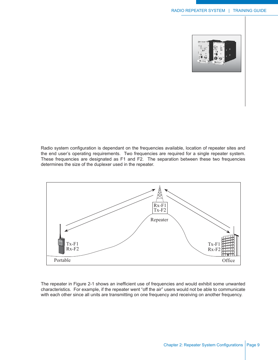 Chapter 2: repeater system configurations, Determining configuration