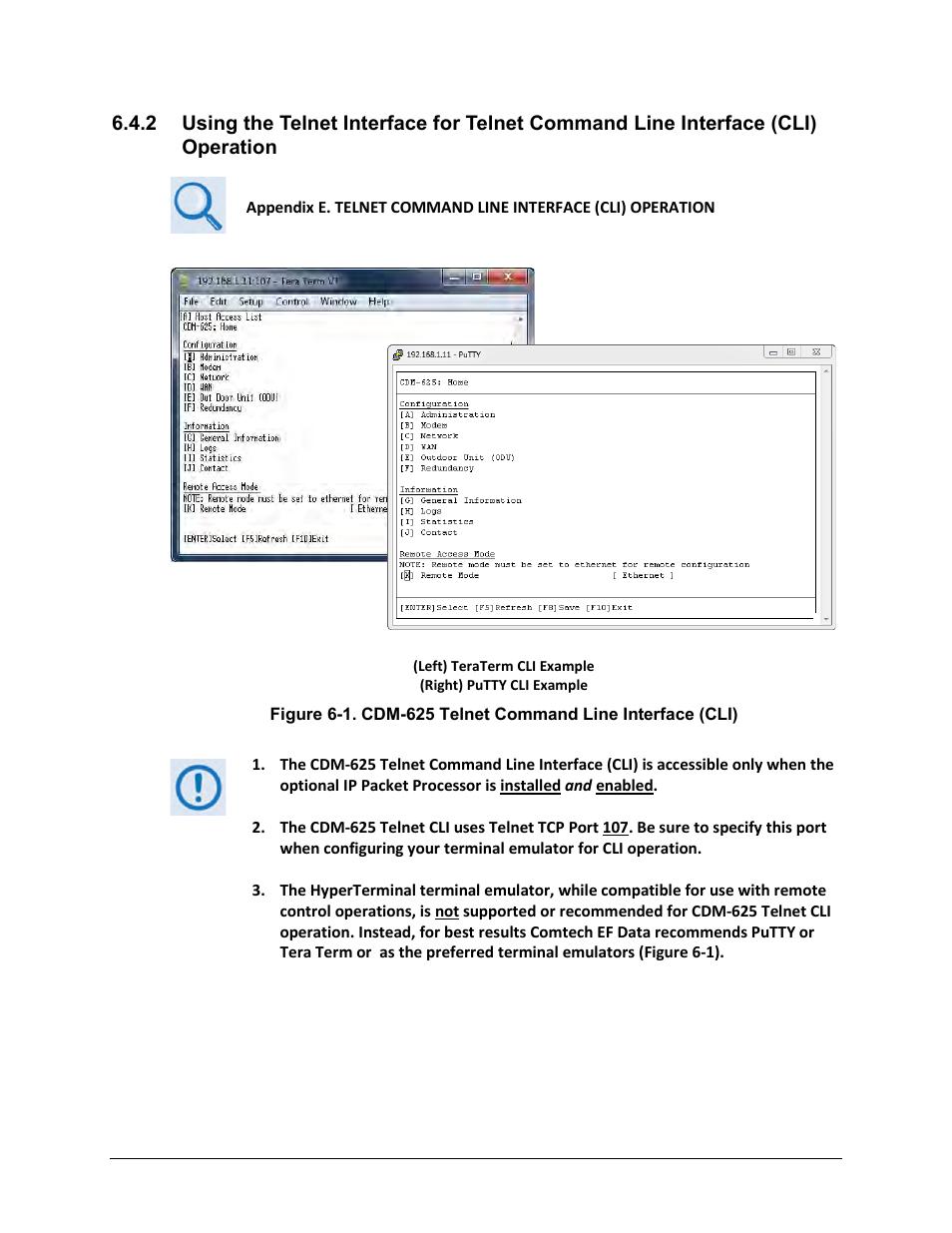 Comtech EF Data CDM-625 User Manual   Page 199 / 684