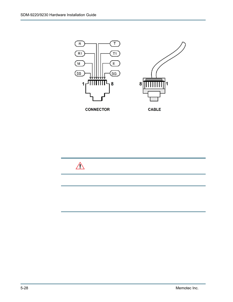 Comtech Ef Data Sdm 9220 User Manual Page 106 144 Also For Jack Wiring 9230 8400