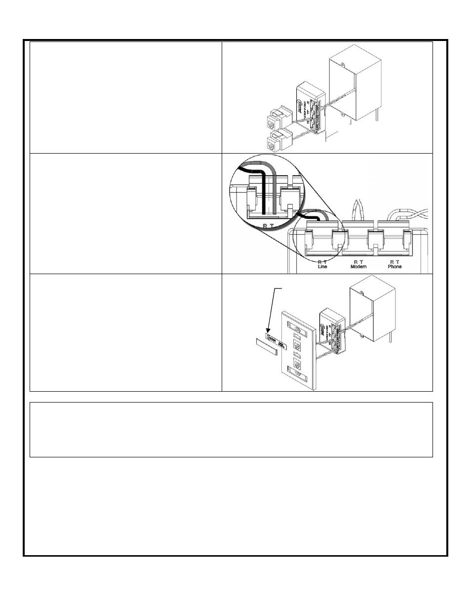 Comtest Networks Nid 01v Pots Splitter Datajack User Manual Page 2 Wiring Diagram