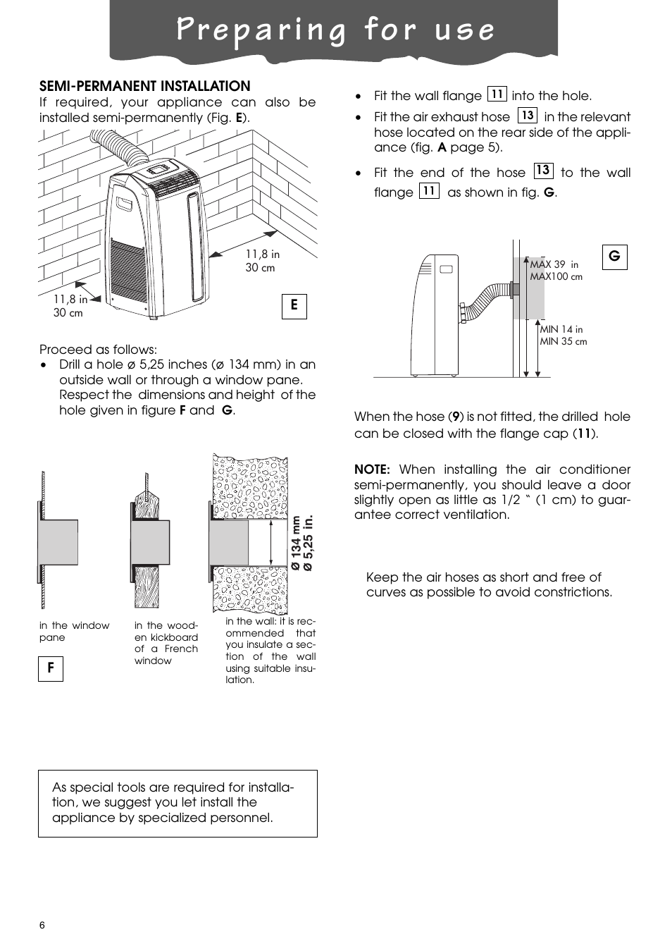DeLonghi PACA110-A120E User Manual | Page 6 / 18