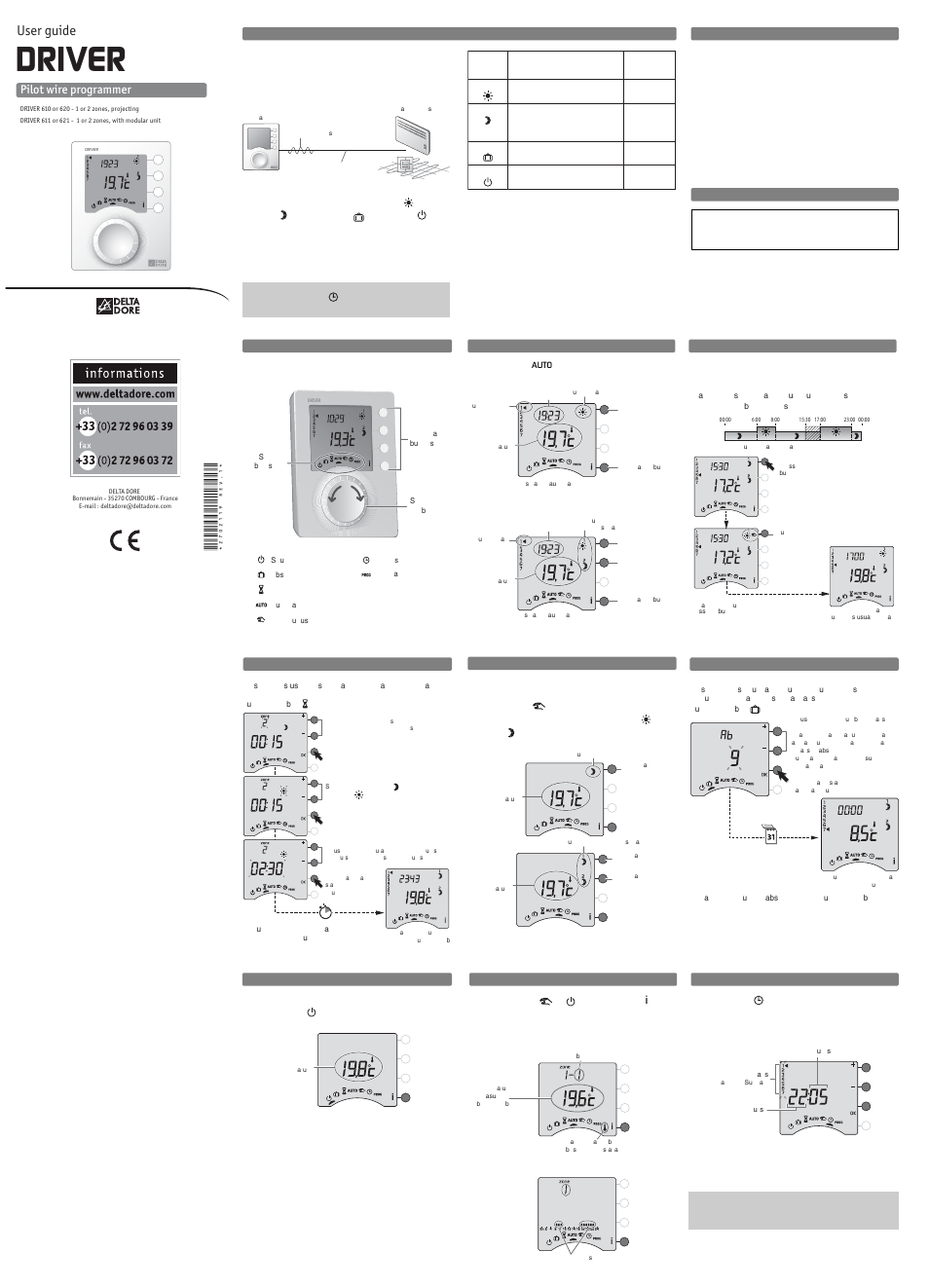delta dore 620 driver user manual 2 pages