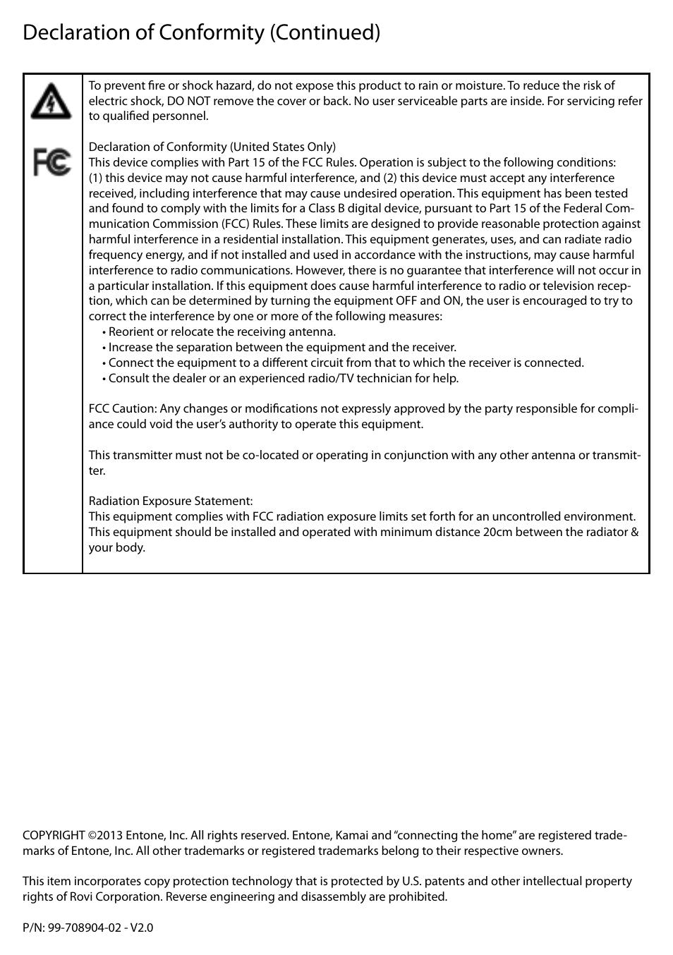 declaration of conformity continued entone kamai 510 user guide rh manualsdir com Intangible Assets Open Source Software