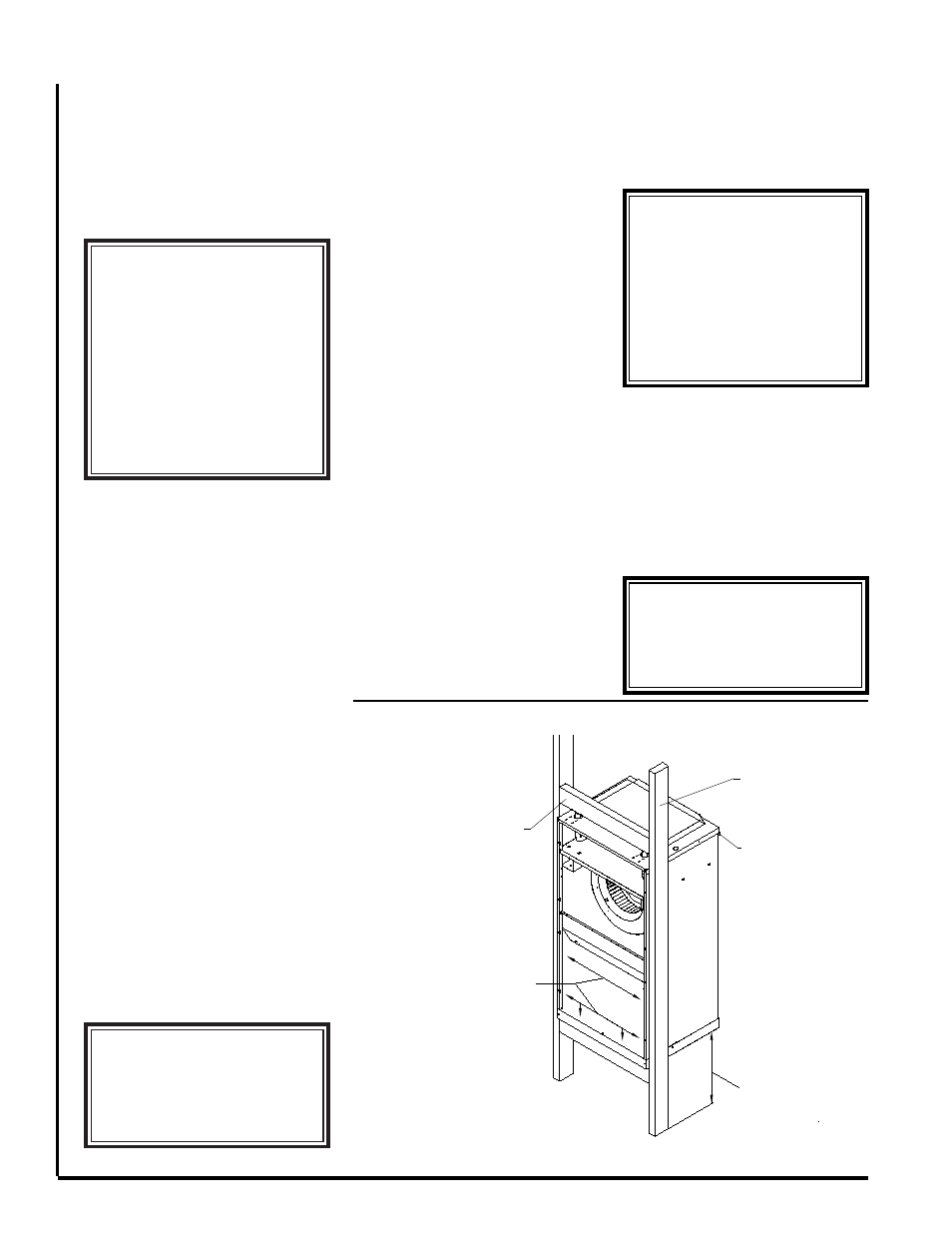 Warning Uc Hw Recessed Wall Mounting First Co Without Wiring Diagrams Installed Pump User Manual Page 2 6