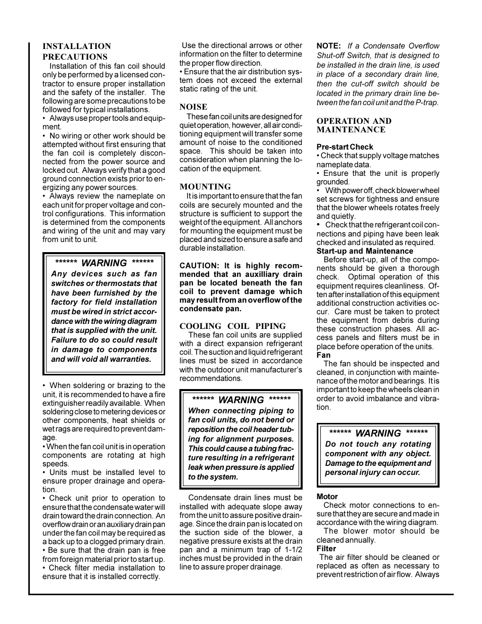 First Co Hbxx High Efficiency Ecm User Manual Page 2 3 Wiring Diagrams